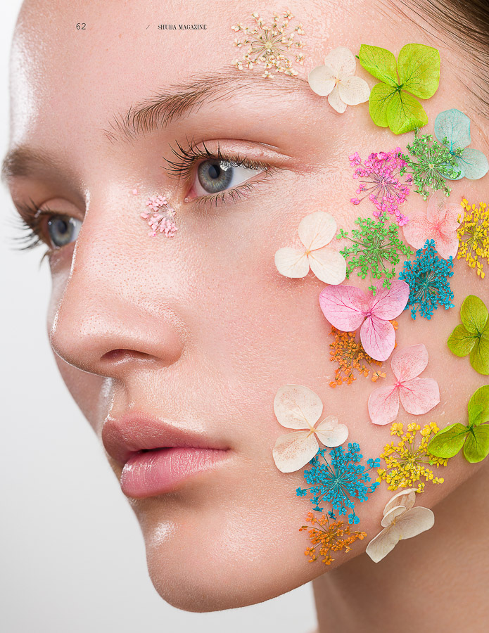 Rampant Flowering Beauty Editoral photography