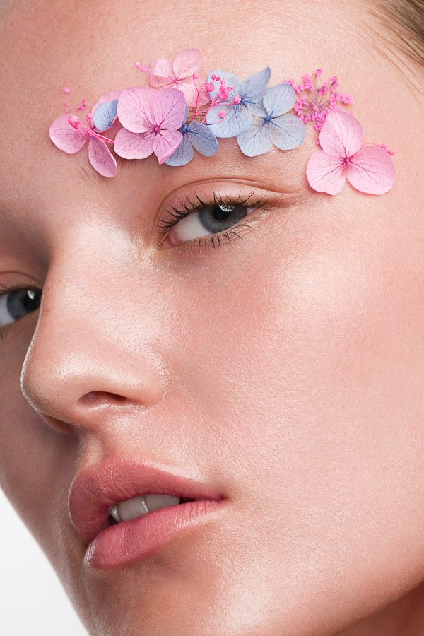 Beauty shoot Flower Eyebrow